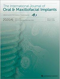 The International Journal of Oral & Maxillofacial Implants, 6/2020