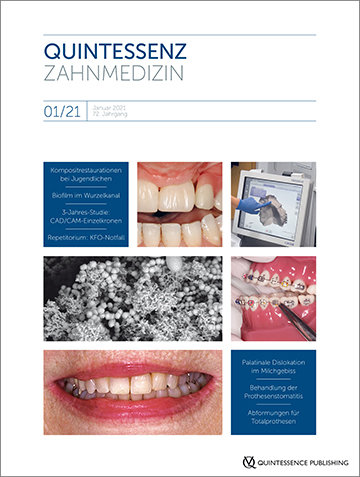 Quintessenz Zahnmedizin, 1/2021