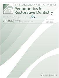 International Journal of Periodontics & Restorative Dentistry, 6/2020