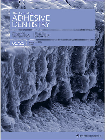 The Journal of Adhesive Dentistry, 1/2021
