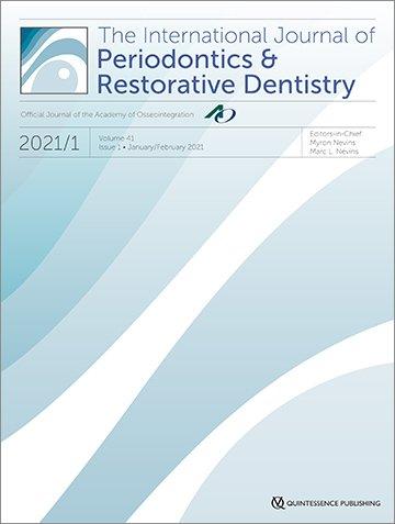 International Journal of Periodontics & Restorative Dentistry, 1/2021