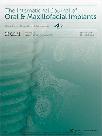 The International Journal of Oral & Maxillofacial Implants, 1/2021
