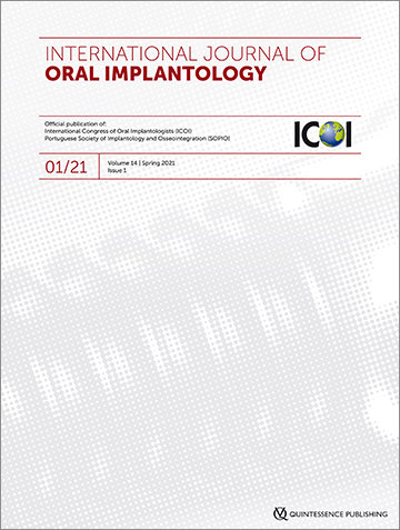 International Journal of Oral Implantology, 1/2021