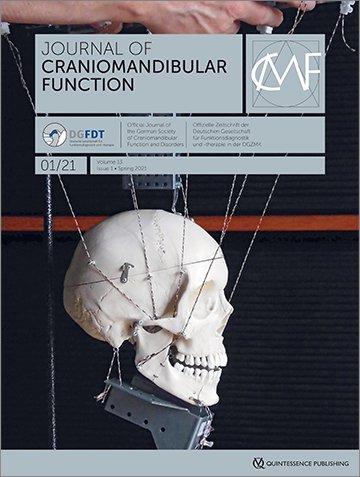 Journal of Craniomandibular Function, 1/2021