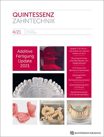 QZ - Quintessenz Zahntechnik, 4/2021