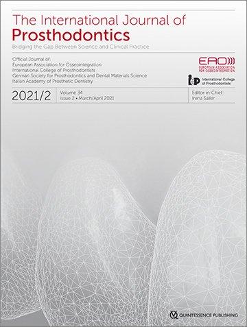 The International Journal of Prosthodontics, 2/2021
