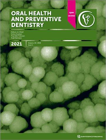 Oral Health and Preventive Dentistry, 1/2021