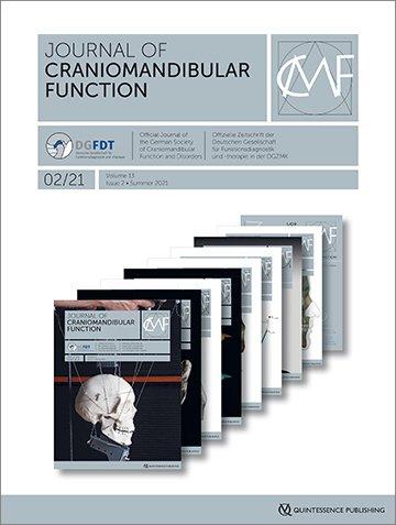 Journal of Craniomandibular Function, 2/2021