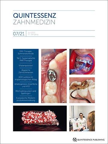 Quintessenz Zahnmedizin, 7/2021