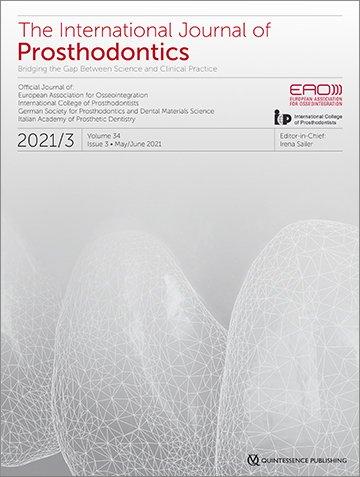The International Journal of Prosthodontics, 3/2021
