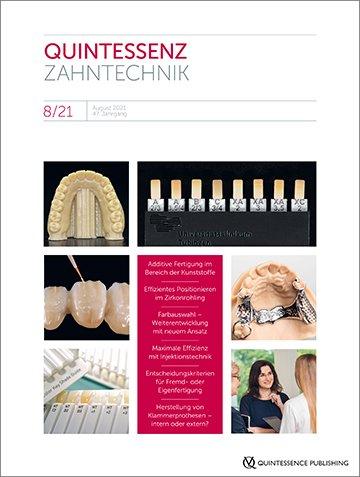 QZ - Quintessenz Zahntechnik, 8/2021