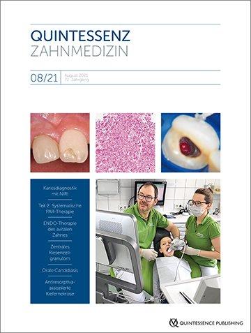 Quintessenz Zahnmedizin, 8/2021