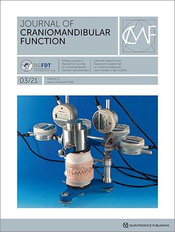 Journal of Craniomandibular Function, 3/2021