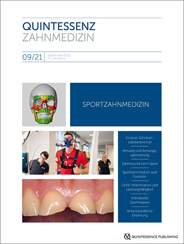 Quintessenz Zahnmedizin, 9/2021