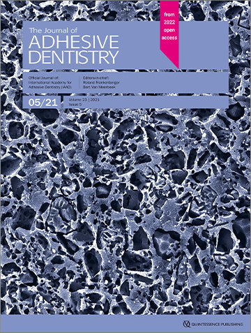 The Journal of Adhesive Dentistry, 5/2021