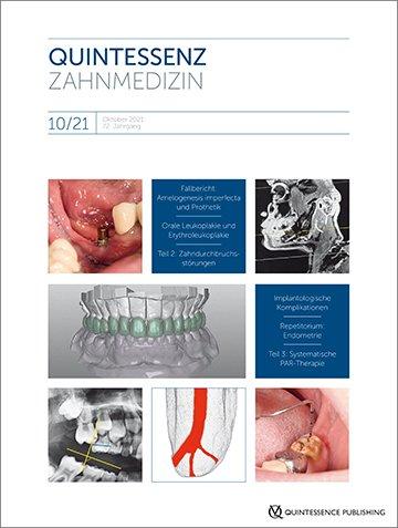 Quintessenz Zahnmedizin, 10/2021