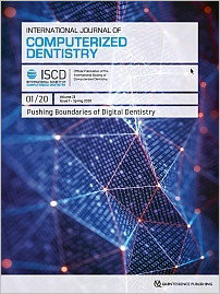 International Journal of Computerized Dentistry, 1/2020