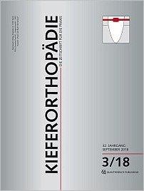 Kieferorthopädie, 3/2018