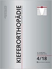 Kieferorthopädie, 4/2018