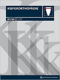 Kieferorthopädie, 1/2020