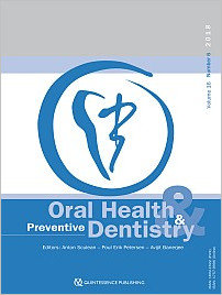 Oral Health and Preventive Dentistry, 6/2018