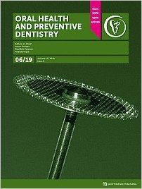 Oral Health and Preventive Dentistry, 6/2019