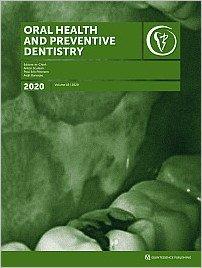 Oral Health and Preventive Dentistry, 1/2020