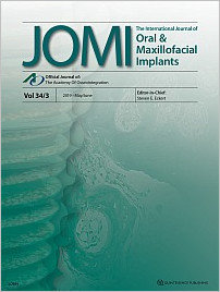 The International Journal of Oral & Maxillofacial Implants, 3/2019