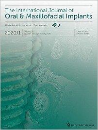 The International Journal of Oral & Maxillofacial Implants, 1/2020