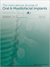 The International Journal of Oral & Maxillofacial Implants, 5/2020