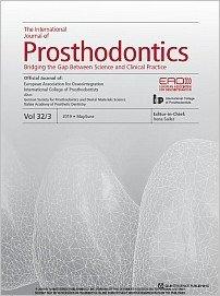 The International Journal of Prosthodontics, 3/2019