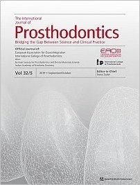 The International Journal of Prosthodontics, 5/2019