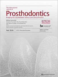 The International Journal of Prosthodontics, 6/2019