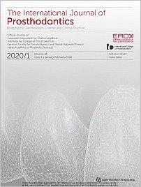The International Journal of Prosthodontics, 1/2020