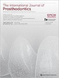 The International Journal of Prosthodontics, 2/2020