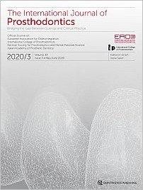 The International Journal of Prosthodontics, 3/2020