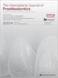 The International Journal of Prosthodontics, 4/2020