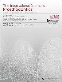 The International Journal of Prosthodontics, 5/2020