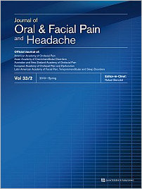 Journal of Oral & Facial Pain and Headache, 2/2019