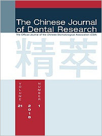 Chinese Journal of Dental Research, 1/2018