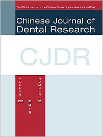 Chinese Journal of Dental Research, 2/2019
