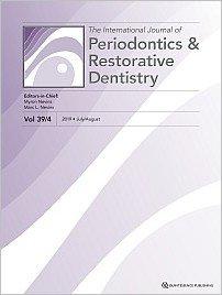 International Journal of Periodontics & Restorative Dentistry, 4/2019