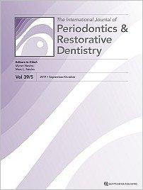 International Journal of Periodontics & Restorative Dentistry, 5/2019
