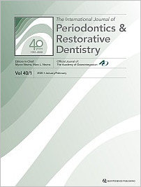 International Journal of Periodontics & Restorative Dentistry, 1/2020