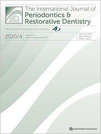 International Journal of Periodontics & Restorative Dentistry, 4/2020