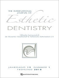 International Journal of Esthetic Dentistry, 1/2018
