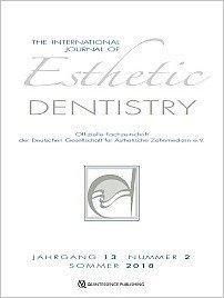 International Journal of Esthetic Dentistry (DE), 2/2018