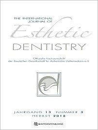 International Journal of Esthetic Dentistry (DE), 3/2018