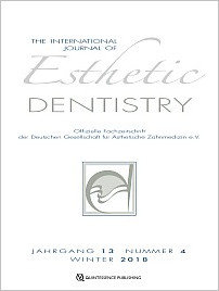 International Journal of Esthetic Dentistry (DE), 4/2018