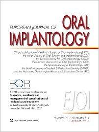 International Journal of Oral Implantology, 5/2018